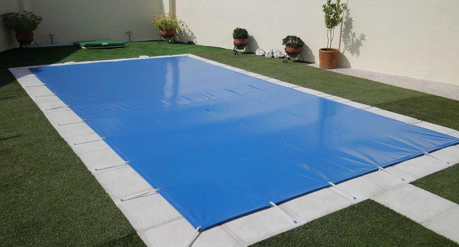 Cubiertas de piscina toldos araceli - Piscina cubierta alicante ...